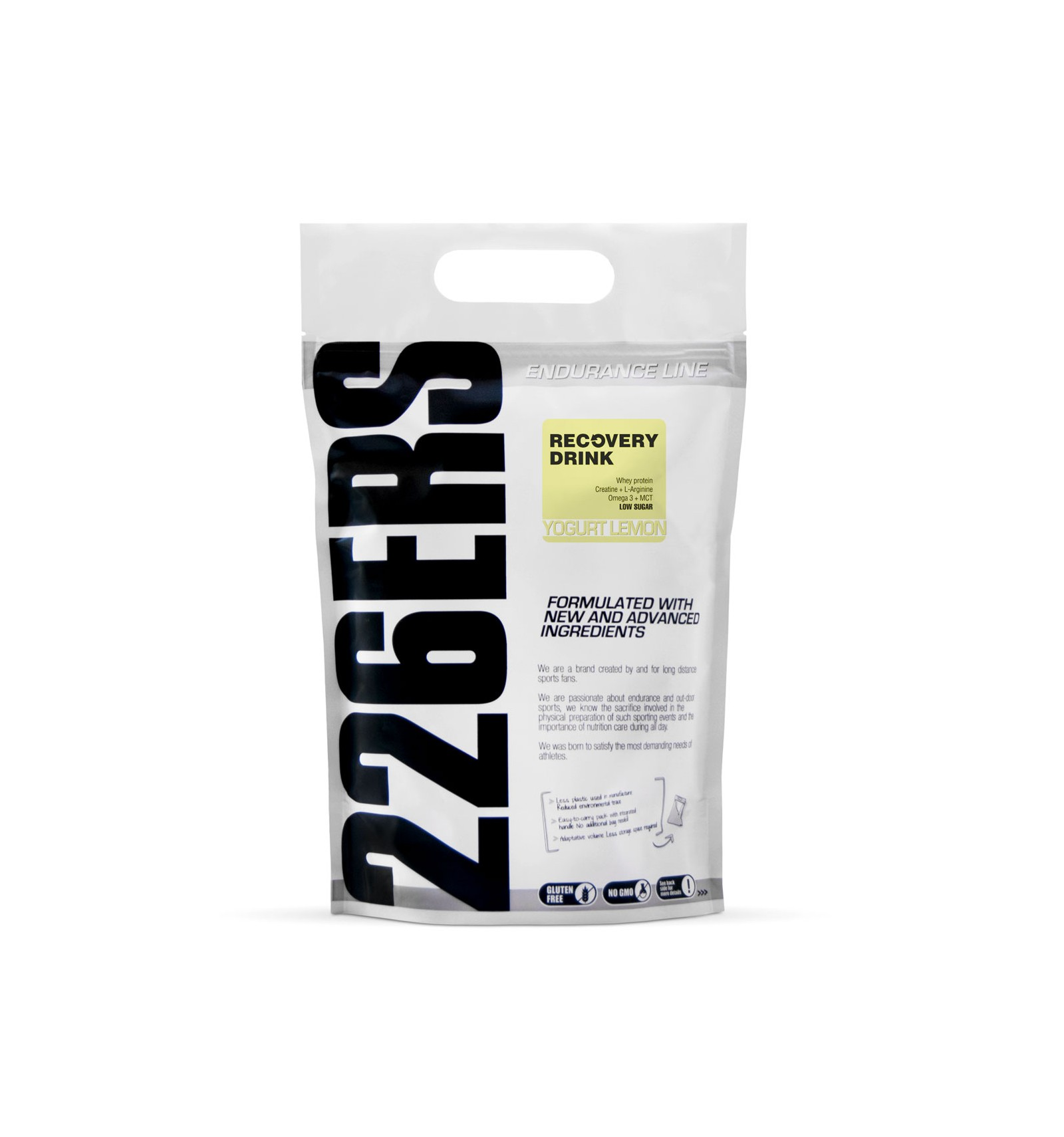 PW-RD-01K-YL 226 RECOVERY DRINK 1KG YOGURT LEMON - 226ERS